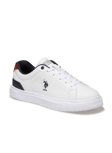 U.S. Polo Assn. Erkek Ayakkabı Veron 100910917 Beyaz
